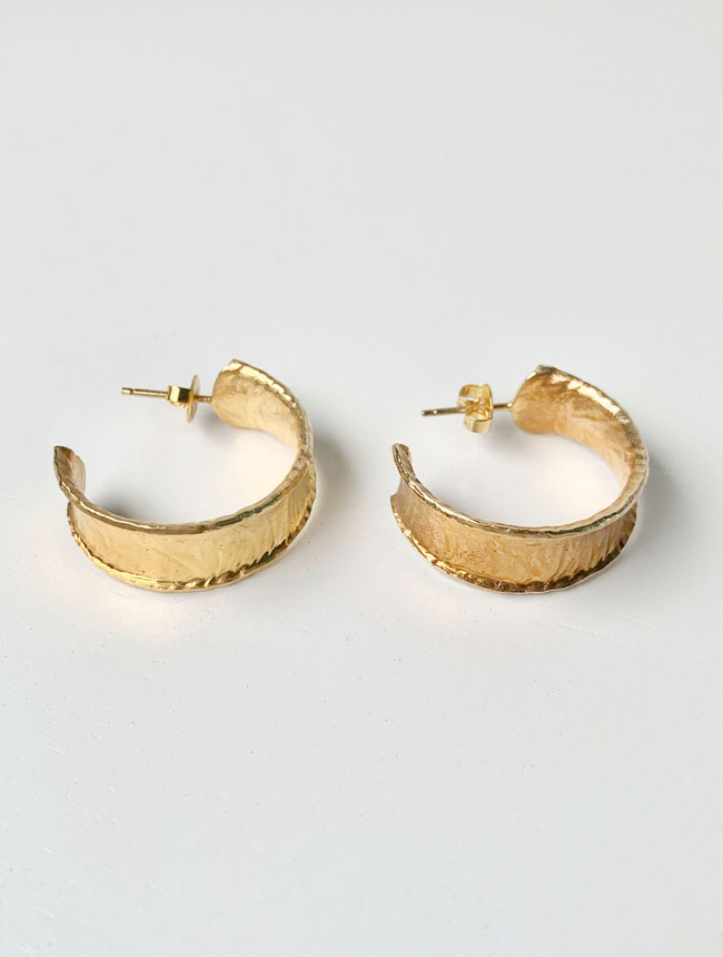 bold golden hoops