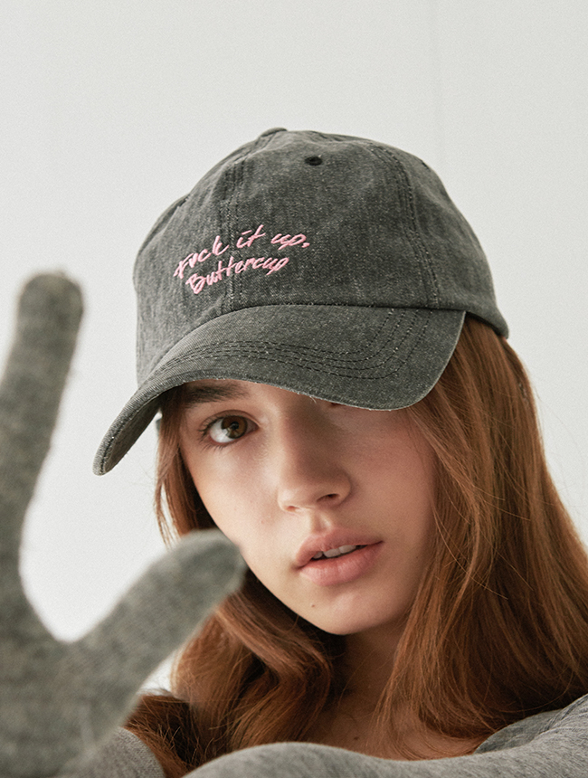 Buttercup Cap (Washed Grey)